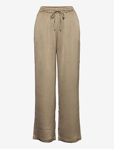 SRHarlow Pant - bukser med brede ben - dune