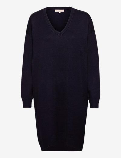 SRLea V-neck Dress - summer dresses - total eclipse