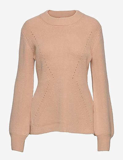 SRJenny LS Knit - trøjer - brush
