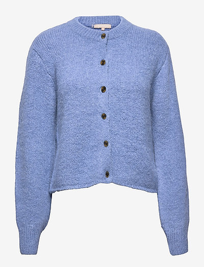 SRStinne Cardigan Knit - cardigans - colony blue