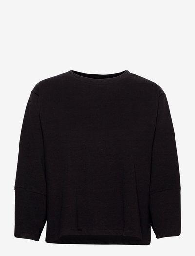 SRAndrea 3/4 Sleeve - long sleeved blouses - black