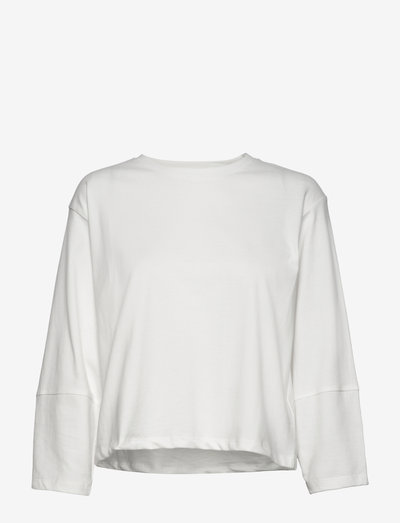 SRAndrea 3/4 Sleeve - long sleeved blouses - snow white