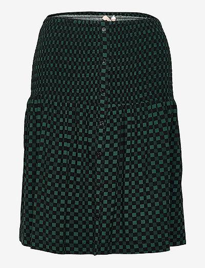 SREllie Skirt - midi nederdele - mini square bayberry