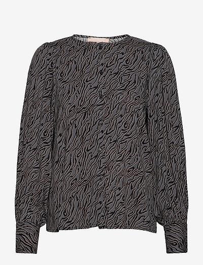 SRAline LS Shirt - long sleeved blouses - lines magnet