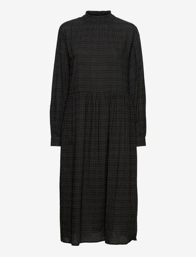 SRVilda Midi Dress - hverdagskjoler - black