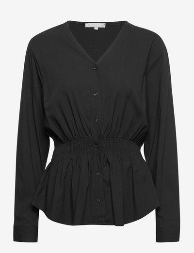 SRVita Shirt - langærmede bluser - black