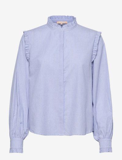 SRIndia Shirt - langærmede skjorter - colony blue