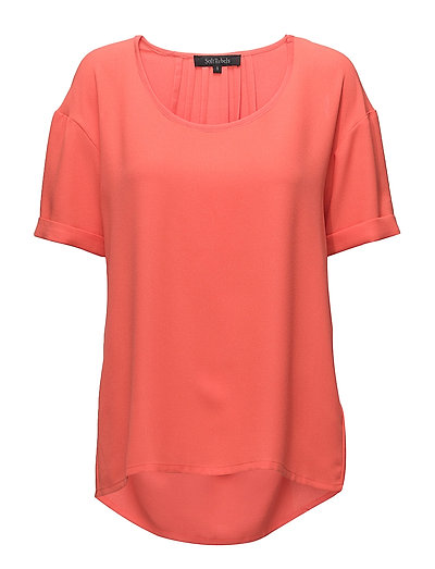 Beauty Blouse - 328 HOT CORAL