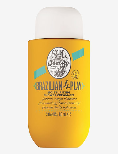 Brazilian 4 play moisturizing shower cream-gel - shower gel - no color