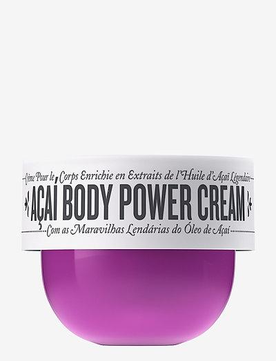 Travel Açaí Body Power Cream - NO COLOR