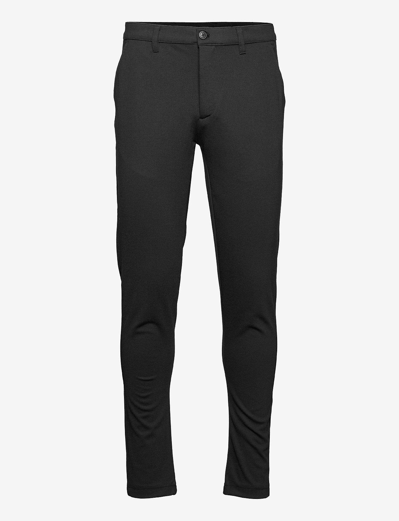 Solid - SDDave Barro Pants - slim fit bukser - black - 0