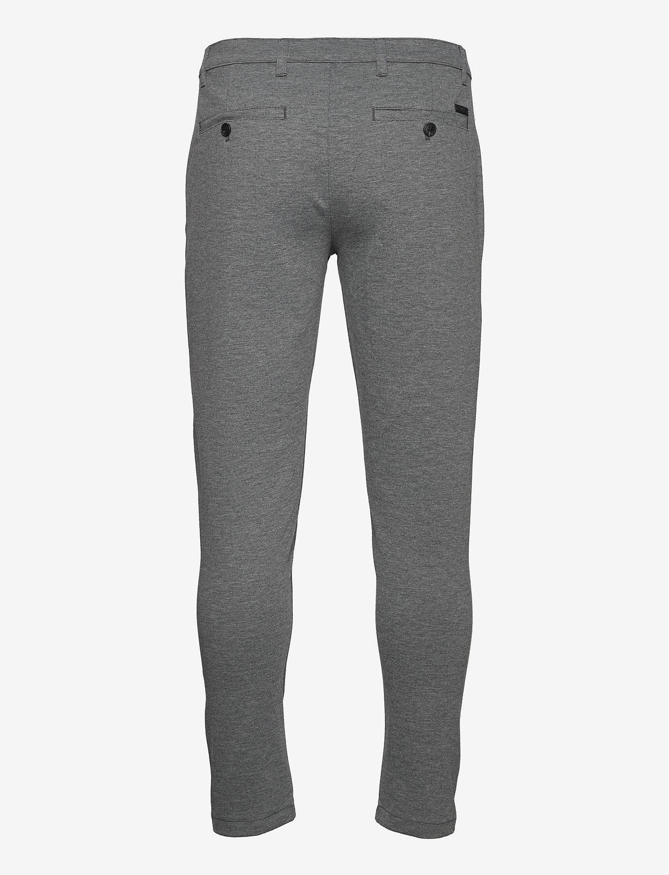 Solid - SDDave Barro Pants - slim fit bukser - dar grey m - 1