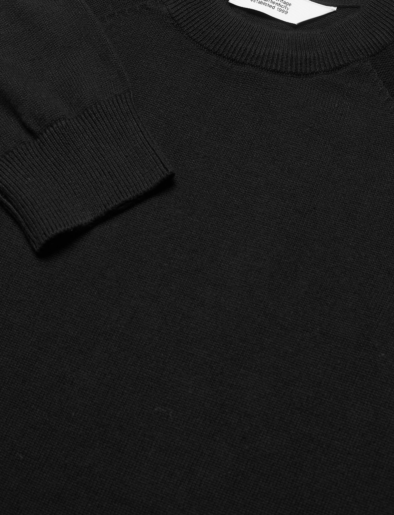 Solid 6202626, Knit - SDLuno O-neck Organ - Strikkevarer BLACK - Menn Klær