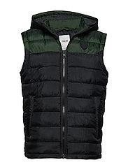 6199621, Jacket - Daffy waistcoat - DEEP FORES