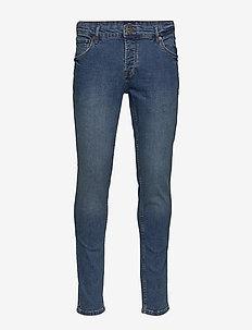 6186602, SLIM-JOY BLUE102 STR - slim jeans - blue dnm