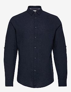 6190209, Shirt - Bern Linnen LS - INSIGNIA B