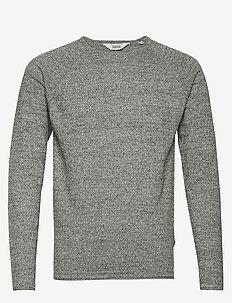6192628, Knit - Stamos Melange - basic knitwear - deep f.m
