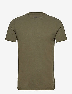 6194761, T-Shirt - Rock SS Organic - basic t-shirts - ivy gre m