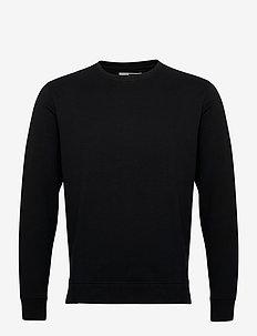 6197729, Sweat - Morgan Crew Organi - basic sweatshirts - black