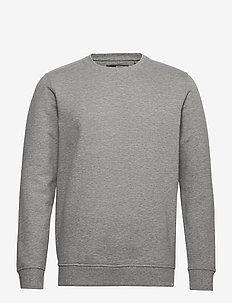 6197729, Sweat - Morgan Crew Organi - basic sweatshirts - lig grey m