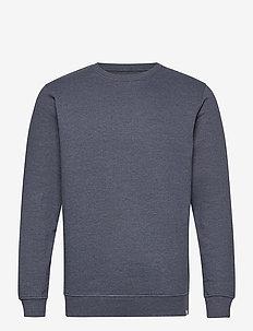6197729, Sweat - Morgan Crew Organi - basic sweatshirts - navy mela