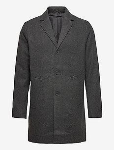 6209615, Jacket - SDFayette Fauxwoo - manteaux de laine - dar grey m