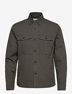 6209630, Jacket - SDLoke Overshirt - windjassen - forest nig
