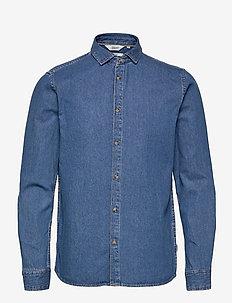 SDPil - podstawowe koszulki - middle blue denim