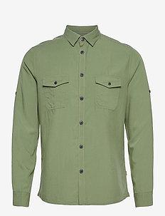 SDPyro - koszule w kratkę - hedge green