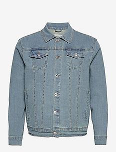 SDPeyton - kurtki dżinsowe - light vintage blue denim