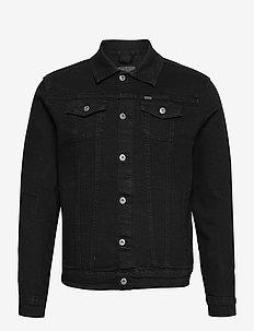 SDPeyton - kurtki dżinsowe - black denim