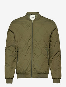 SDPerry - quilted jackets - ivy green