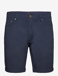SDPovl 5-Pocket - short chino - insignia blue