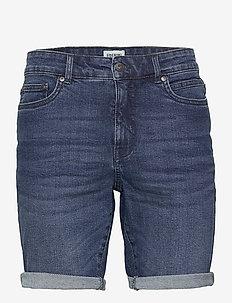 SDRyder Lt Blue 201 - denim shorts - middle blue denim