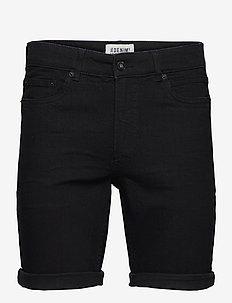 SDRyder Lt Black 100 - denim shorts - black denim