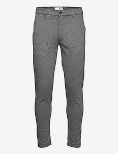 Dave Barro - slim fit bukser - dar grey m