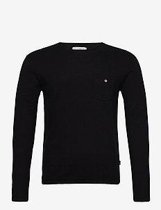 SDPaper - podstawowa odzież z dzianiny - black