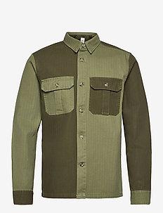 SDRobin - podstawowe koszulki - ivy green
