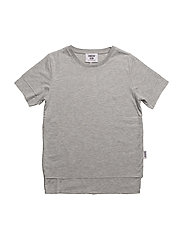 Charlie T-shirt - GREY MELANGE