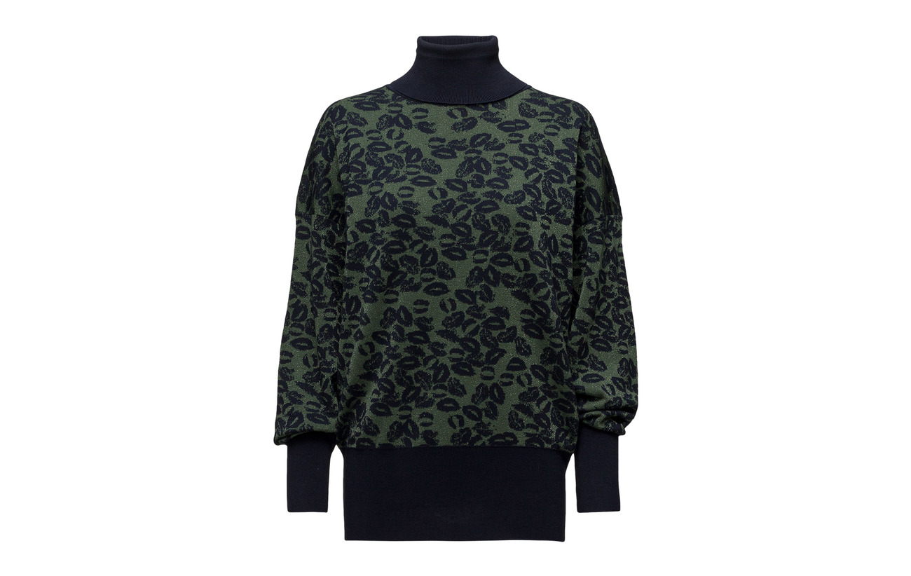 Ml Pull saphir Kaki 34 Sonia 8 Polyester Coton Métallique 58 Rykiel Rayonne wTqAnf