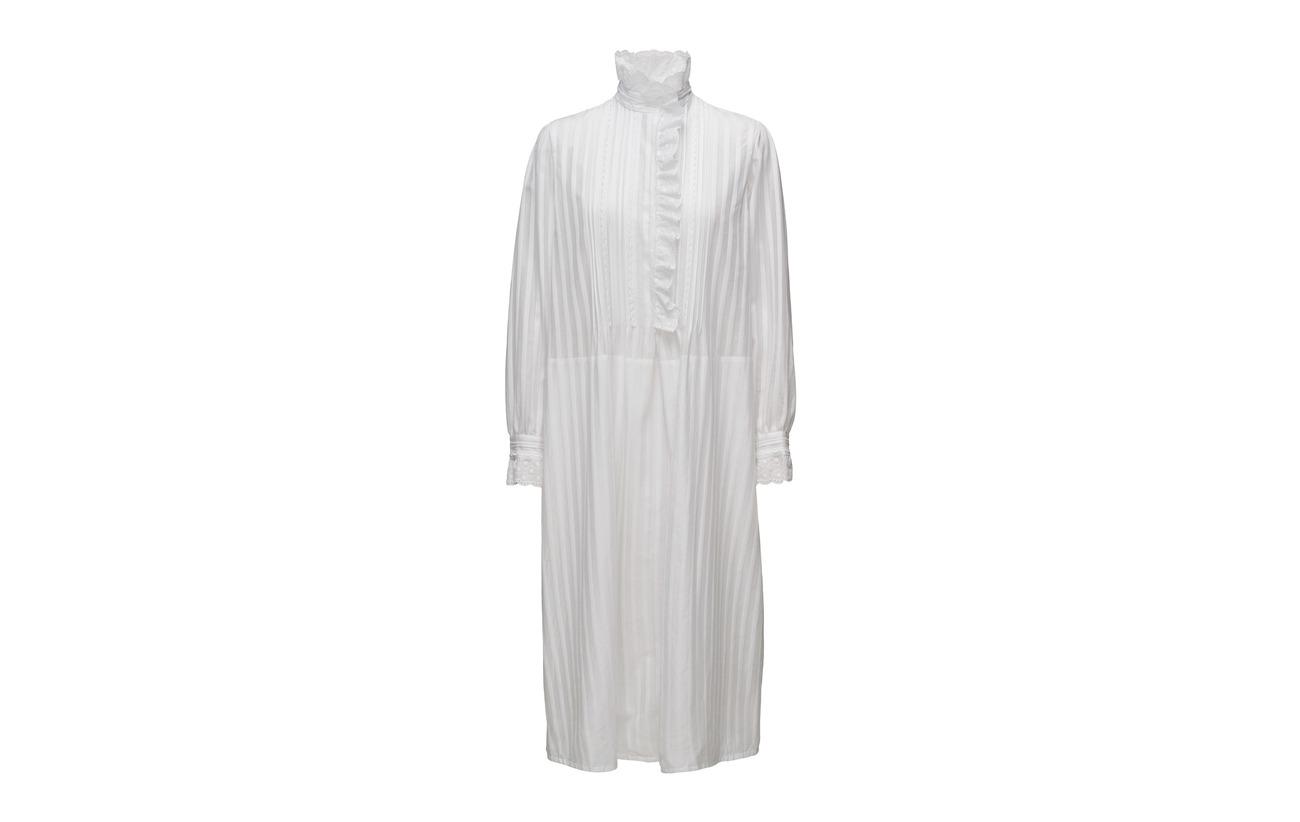 Rykiel 100 Blanc Robe Sonia Ml Coton dBq71gP