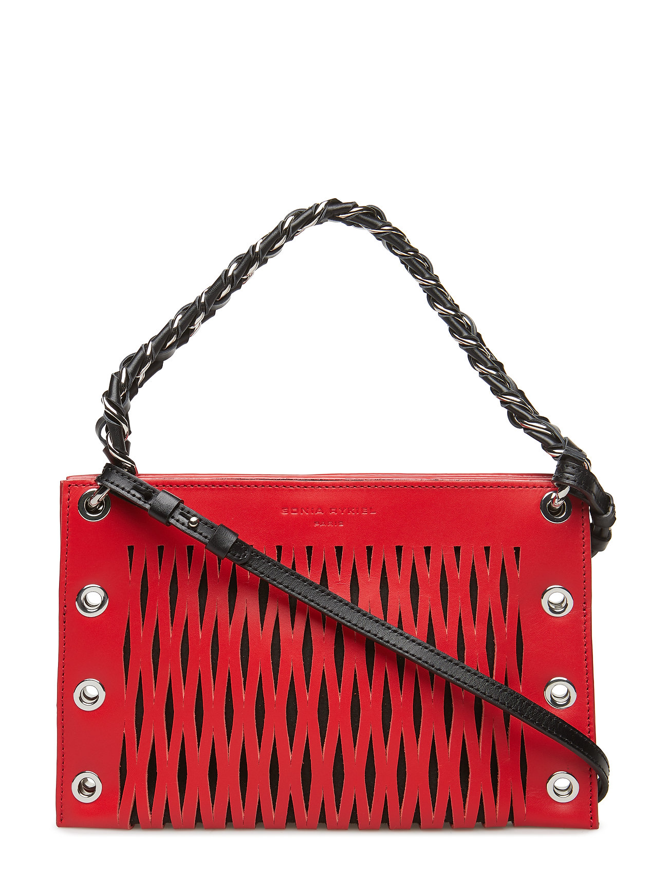 Image of Double Pouch Bags Small Shoulder Bags - Crossbody Bags Rød Sonia Rykiel (3042878369)