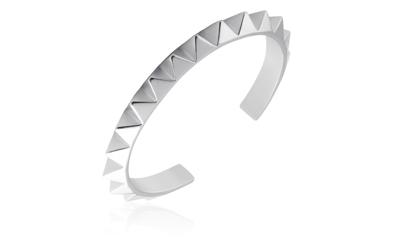 SOPHIE by SOPHIE Pyramid cuff - SILVER