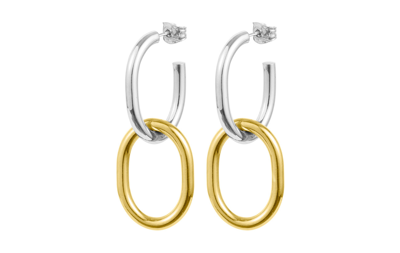 SOPHIE by SOPHIE Two tone earrings - GOLD
