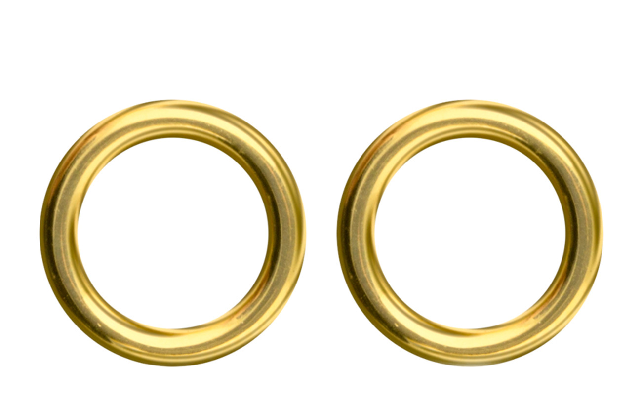 SOPHIE by SOPHIE Circle studs - GOLD