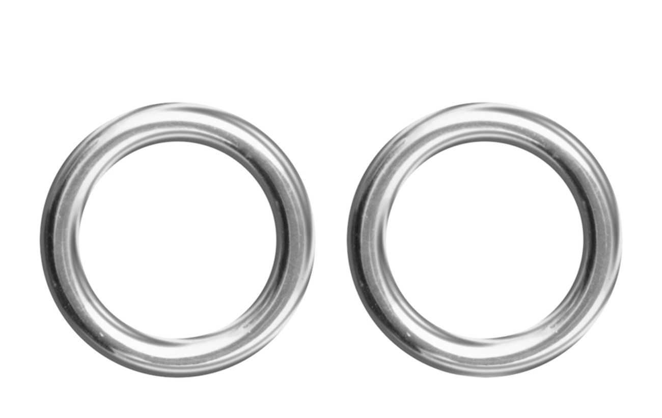 SOPHIE by SOPHIE Circle studs - SILVER