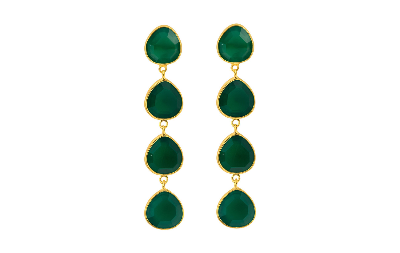 SOPHIE by SOPHIE Multi stone earrings - GOLD