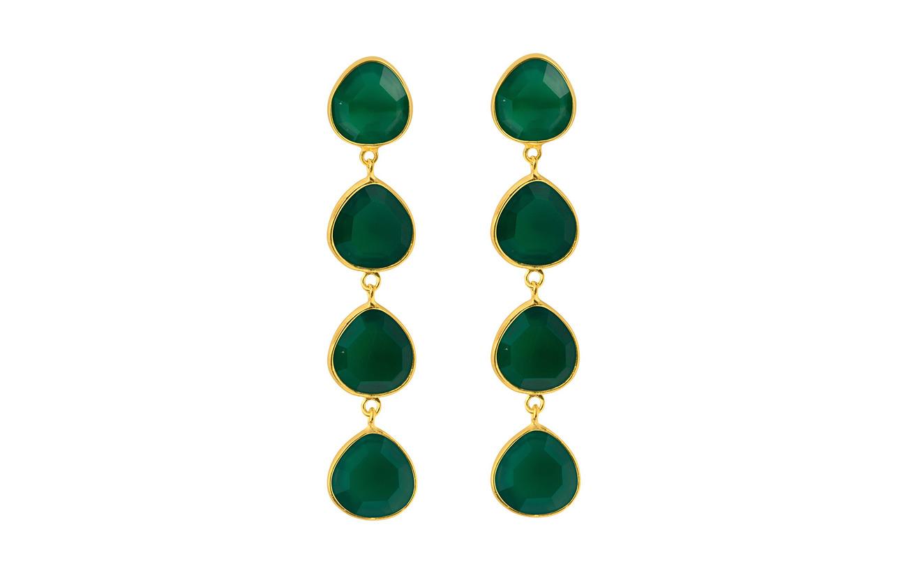 SOPHIE by SOPHIE Multi stone earrings