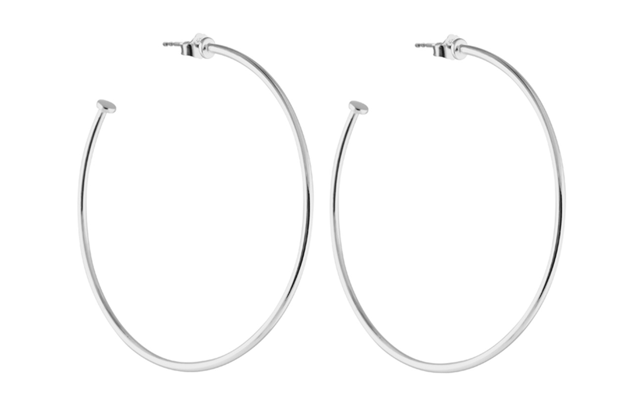 SOPHIE by SOPHIE Hoops platesize large - SILVER