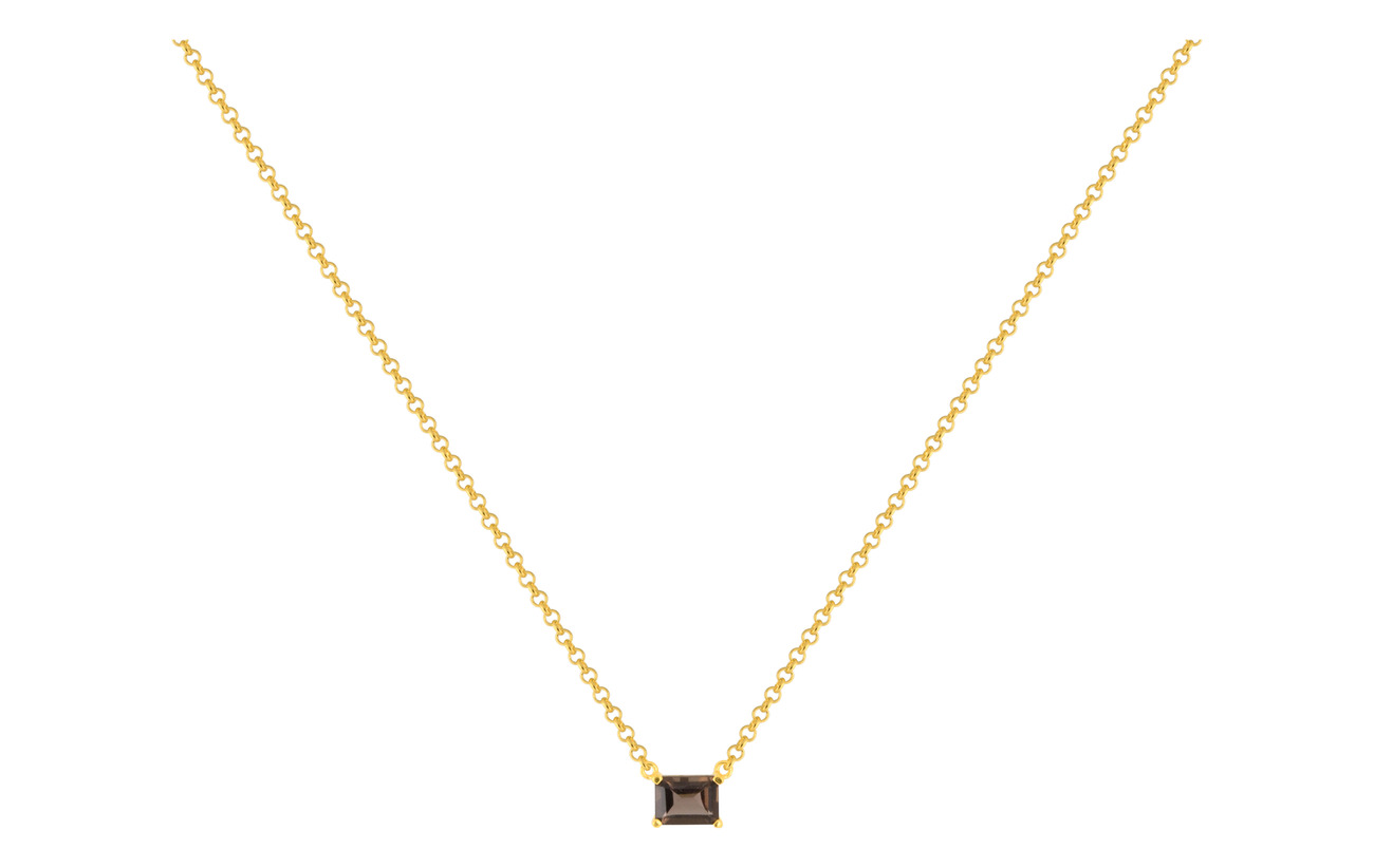 SOPHIE by SOPHIE Emerald-cut necklace - GOLD